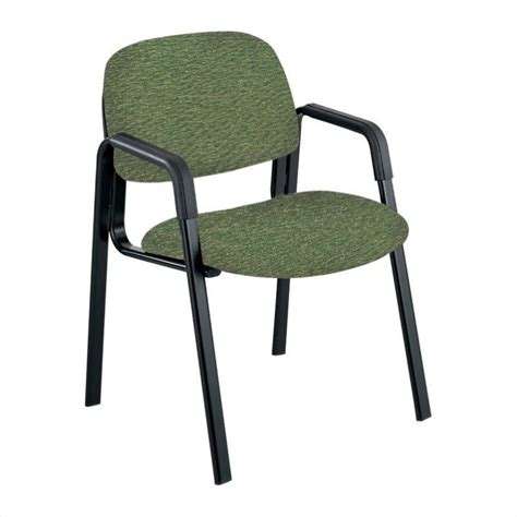 high back guest chair in green 7045gn