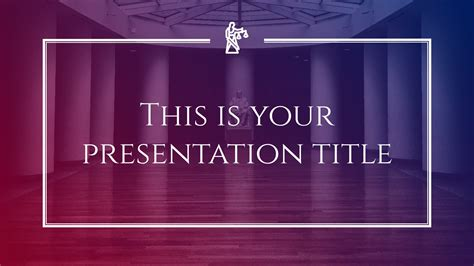 stylish law justice  powerpoint template google