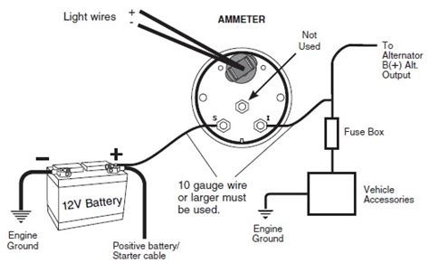 How Install Auto Meter Voltmeter Gauge Electrical