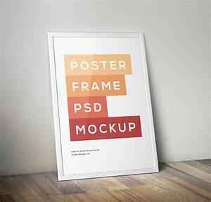 10 Free Realistic Poster & Frame Mockups