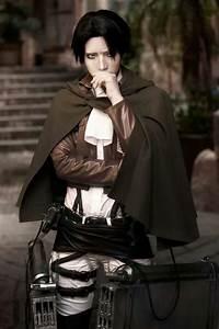 Reika as Rivaille. Shingeki no Kyojin cosplay ♥ Taken from ...