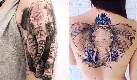 Tatouage éléphant  Tout Ce Qu'il Faut Savoir Tattoome