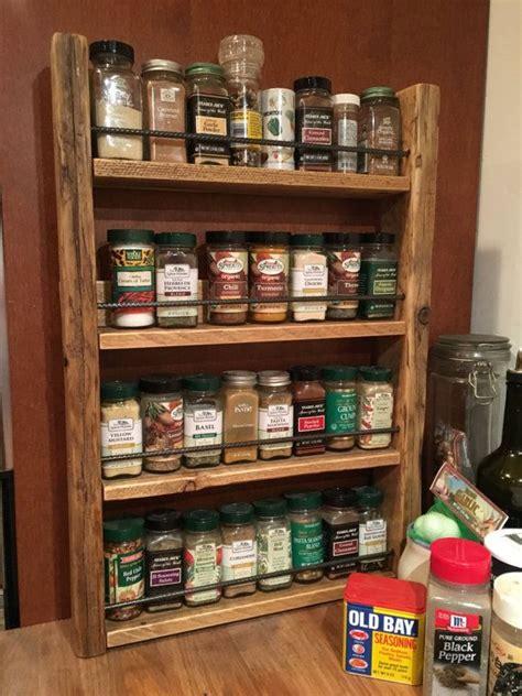 Unique Spice Rack Ideas by 25 Best Ideas About Pallet Spice Rack On