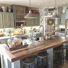 38 Stunning Kitchen Decoration Ideas With Rustic Farmhouse