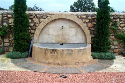 fontaine murale en fontaine murale en de fontvieille r 233 alisations taille de pour architecte bouches