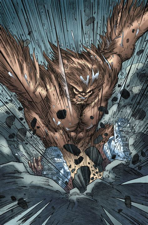Lesser Known Marvel Characters: Who Is Sasquatch?   Geeks