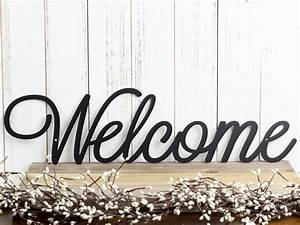 Welcome, Sign