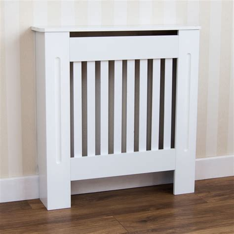radiator covers wood chelsea radiator covers mdf wood cabinet grill modern slats white ebay
