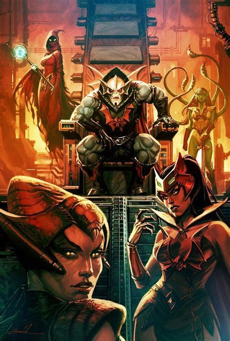 Hordak & The Ladies of the Horde: Shadow Weaver, Octavia ...