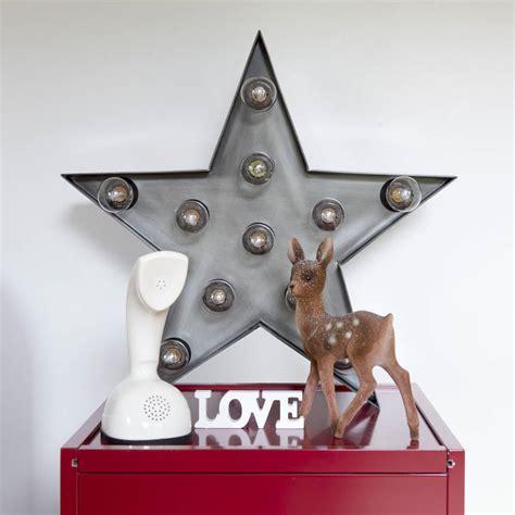 retro star wall light star wall light by i love retro notonthehighstreet com