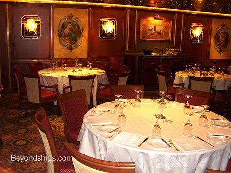 emerald princess menu   main dining rooms