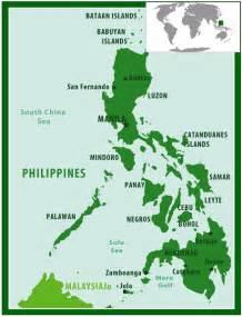 World Map Philippine Islands