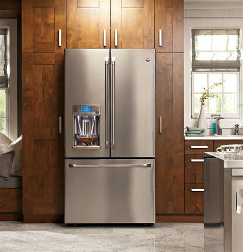 ge cafe counter depth refrigerator ge cafe series cye23tsdss