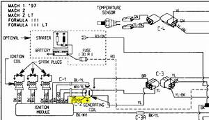 Mach 1 Stator And Cdi Wiring - Sledding