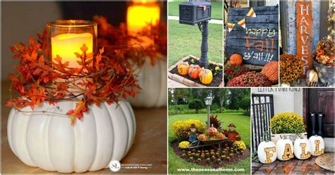 20 Diy Outdoor Fall Decorations That'll Beautify Your Lawn And Garden  Diy & Crafts