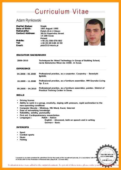 Curriculum Vitae Pdf by Curriculum Vitae Mc Informatica