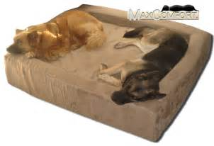 Xl Orthopedic Dog Beds by Comfort Nest Memory Foam Dog Bolster Beds Made In The U S A