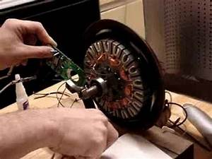 Cieling Fan Motor To Bldc Motor Conversion  Experiment 1