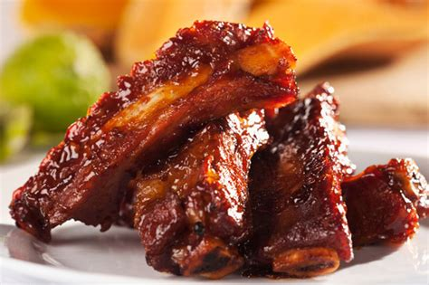 spare ribs barbecue spareribs recipe dishmaps