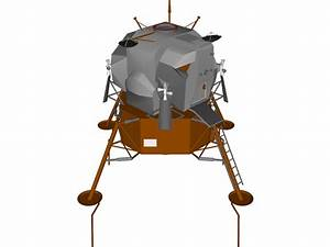 Apollo Lunar Module LEM 3D Model - 3D CAD Browser