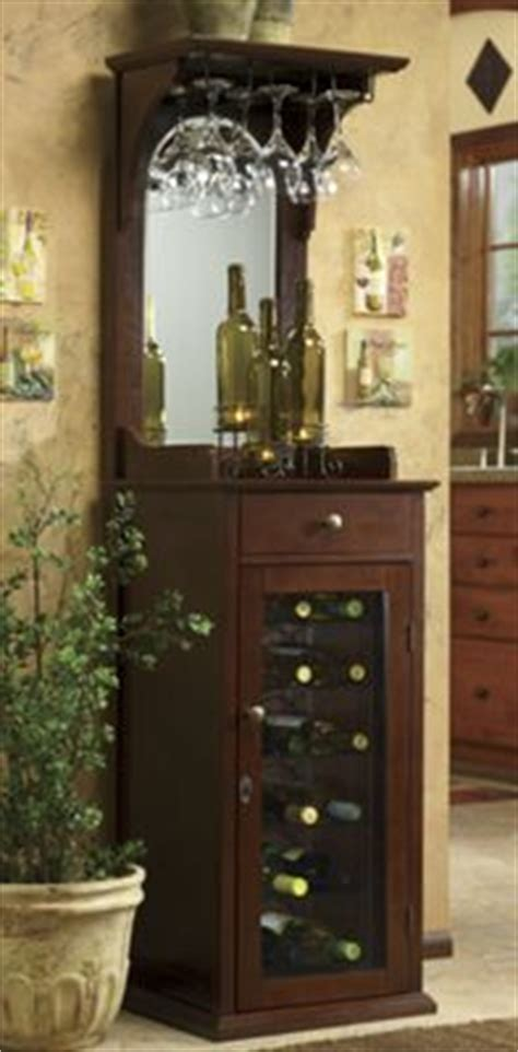Locking Wine Cabinet from Seventh Avenue   DW79037
