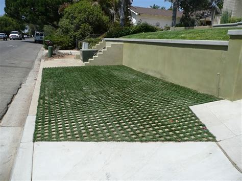 permeable driveway options a permeable solution with drivable grass good for driveway walkway how about a hill