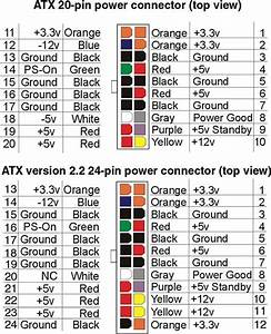 Atx Power Supply Pinout