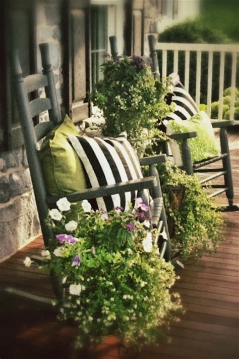 front porch rocking chairs porches