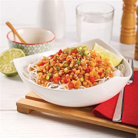 lentilles à la coréenne soupers de semaine recettes 5