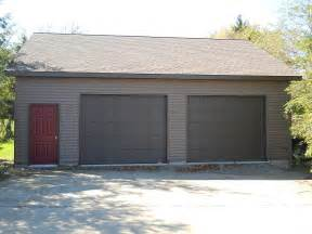 2 Car Garage Building Kits