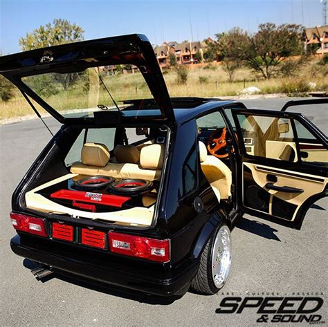 volkswagen polo modified interior black magic volkswagen golf mk1 with digital design
