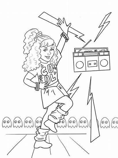American Courtney Doll Printable Coloring Giveaway Sheet
