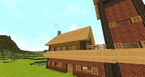 simple brick house design  minecraft project