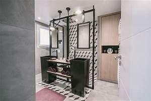 Abat Jour Salle De Bain : d corateur pour une salle de bain moderne toulon ~ Melissatoandfro.com Idées de Décoration
