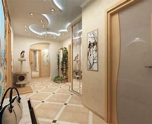 deco entree maison cage d39escalier et couloir en 30 idees With couleur peinture maison moderne 16 idee deco du hall dentree