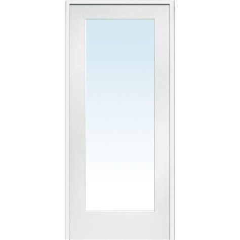 frosted glass interior doors home depot builder 39 s choice 48 in x 80 in 10 lite clear wood pine