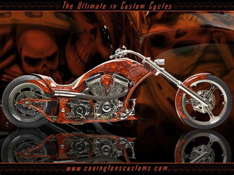 Custom Chopper Motorcycles Wallpaper