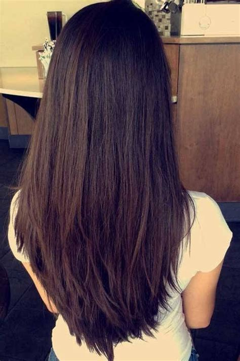 classy layers   shaped cut layered hairstyles