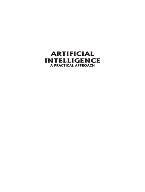 Download Artificial Intelligence by Rajiv Chopra PDF Online