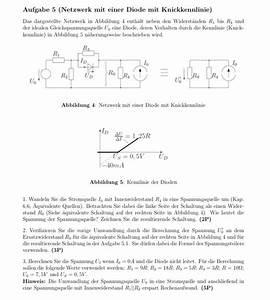 Thermische Leistung Berechnen : spannung physik knickkennlinie einer diode bitte um ans tze nanolounge ~ Themetempest.com Abrechnung