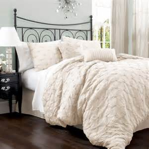 lake como ivory king size comforter sets