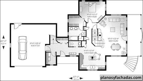 plano de casa  primer nivel vestibulo  armario