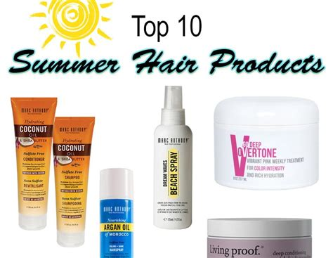 Top 10 Summer Hair Products For Color Treated Hair