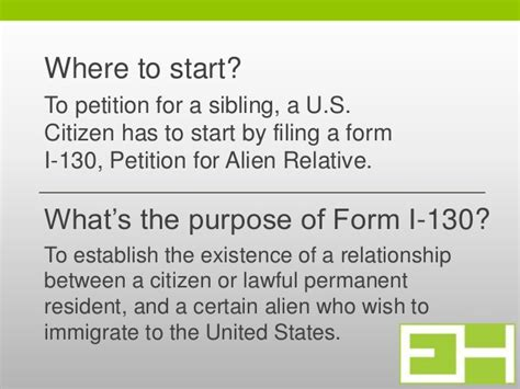 Immigration Form For Siblings by Form I 130 Petition For A Sibling