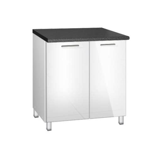 evier cuisine 80 cm meuble de cuisine sous evier de 80 cm tara avec pieds