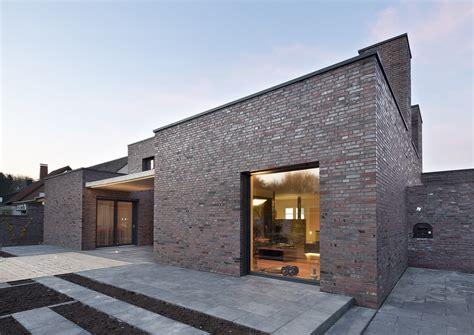 Haus In U Form by Wohnhaus In U Form Mit Gillrath Klinkern