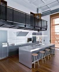 magnificent modern kitchen plan Apartment Kitchen Design Luxury Industrial Style Kitchen ...