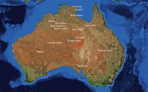 geo ag weselde meteoritenkrater  australien