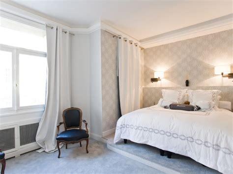 chambre à coucher réalisée dans une ambiance romantique