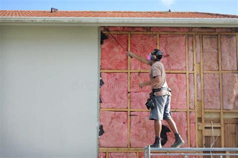 fiberglass insulation stock images